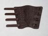 Armschutz aus Leder (mit 4 Schnallen)