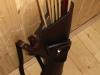 Seitenköcher typ 7a (mit eine kleine Tasche)