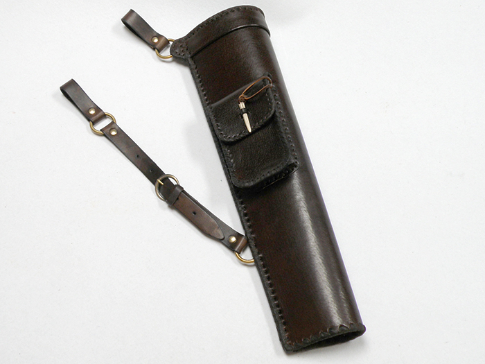 Side quiver with a bag for small things