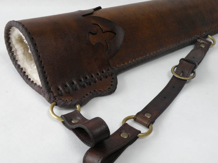 Side quiver with a lily decoration