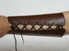 Armschutz aus Leder (mit keltischem Muster)