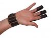 Traditional Schießhandschuh mit eine Schnalle