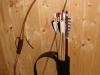 Rückenköcher typ 3 (rohr) mit einem Lederschmuck