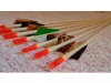 Children's wooden arrow