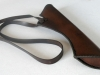 Side quiver with a shoulder strap